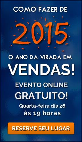Aula online de vendas gratuita - Quarta-feira 26/11/2014 - 19 horas